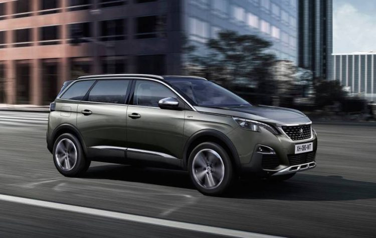 new peugeot 5008 revealed 7 seater mid 2017 for. Black Bedroom Furniture Sets. Home Design Ideas