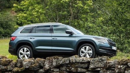 Skoda Kodiaq revealed in leaked images