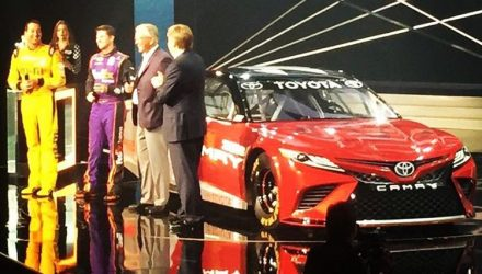 Is this the new look for the 2018 Toyota Camry?