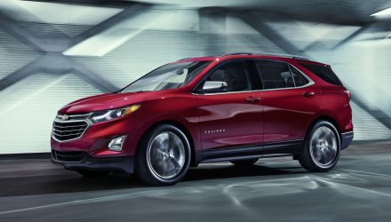 2018 Chevrolet Equinox revealed, to become 2017 Holden SUV