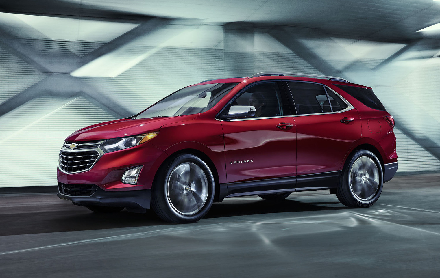 The all-new Equinox is based on the D2XX platform of the second ...