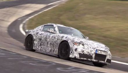 2018 Toyota Supra spotted again, begins Nurburgring tests (video)