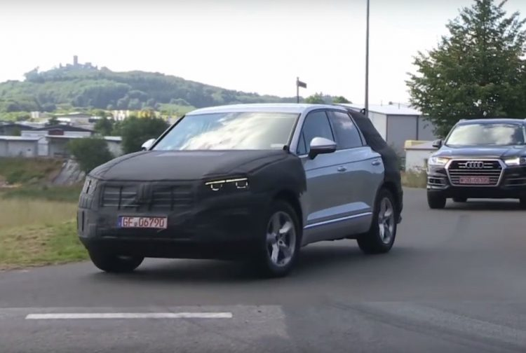 2018 Volkswagen Touareg prototype