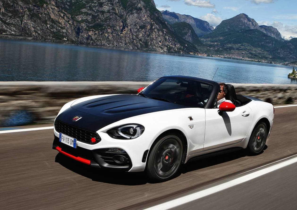 abarth 124 spider on sale in australia from 41 990 performancedrive. Black Bedroom Furniture Sets. Home Design Ideas