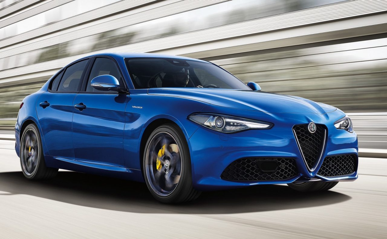 sporty alfa romeo giulia 39 veloce 39 variants added to lineup performancedrive. Black Bedroom Furniture Sets. Home Design Ideas