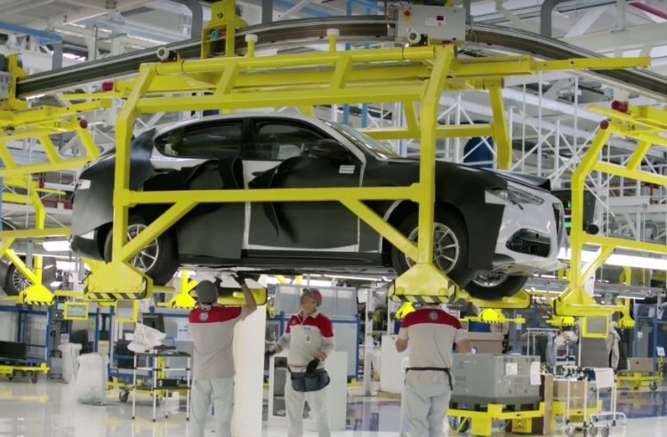 Alfa Romeo Stelvio production