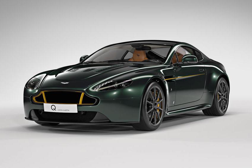 Aston Martin Q Makes Special Edition Spitfire Vantage