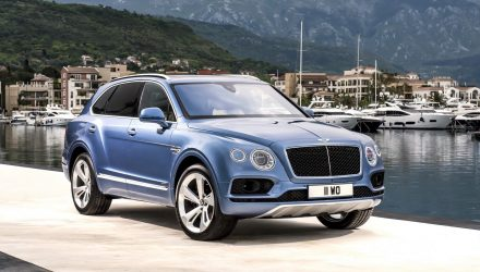 Bentley Bentayga Diesel revealed, gets tri-turbo V8