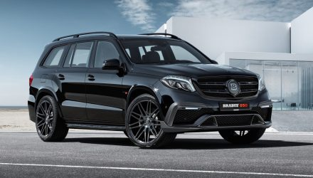 Brabus extracts 1450Nm from Mercedes-AMG GLS 63
