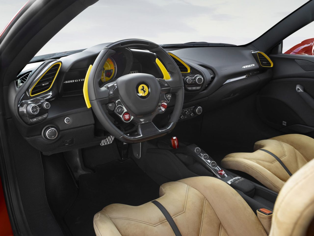 Ferrari reveals special editions for 70th anniversary for Interieur 488 gtb
