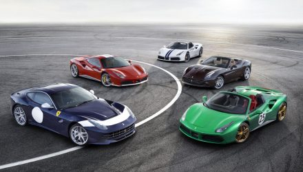 Ferrari reveals special editions for 70th anniversary