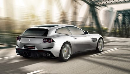 Ferrari GTC4Lusso T revealed; new RWD 4-seat V8TT