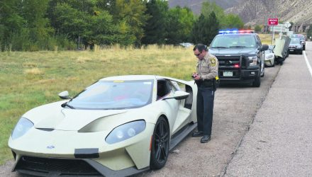 Police fine 3 Ford GT prototypes for speeding in Colorado