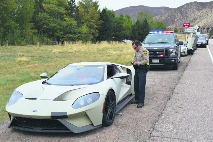 Ford GT prototypes-police