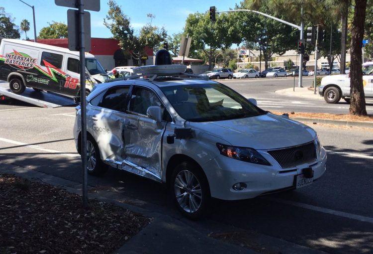 google lexus rx crash red-light