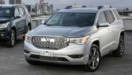 Holden Acadia confirmed as large SUV for 2018