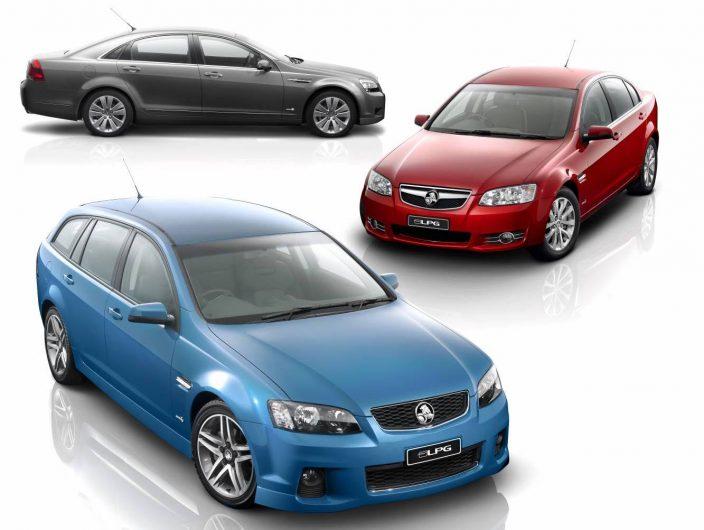 Holden Commodore LPG range