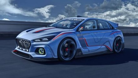 Hyundai RN30 concept debuts in Paris, previews i30 hot hatch