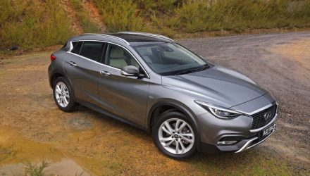 Infiniti QX30 now on sale in Australia from $48,900