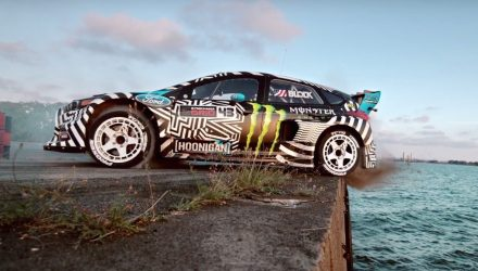 Video: Ken Block Gymkhana Nine: Raw Industrial Playground