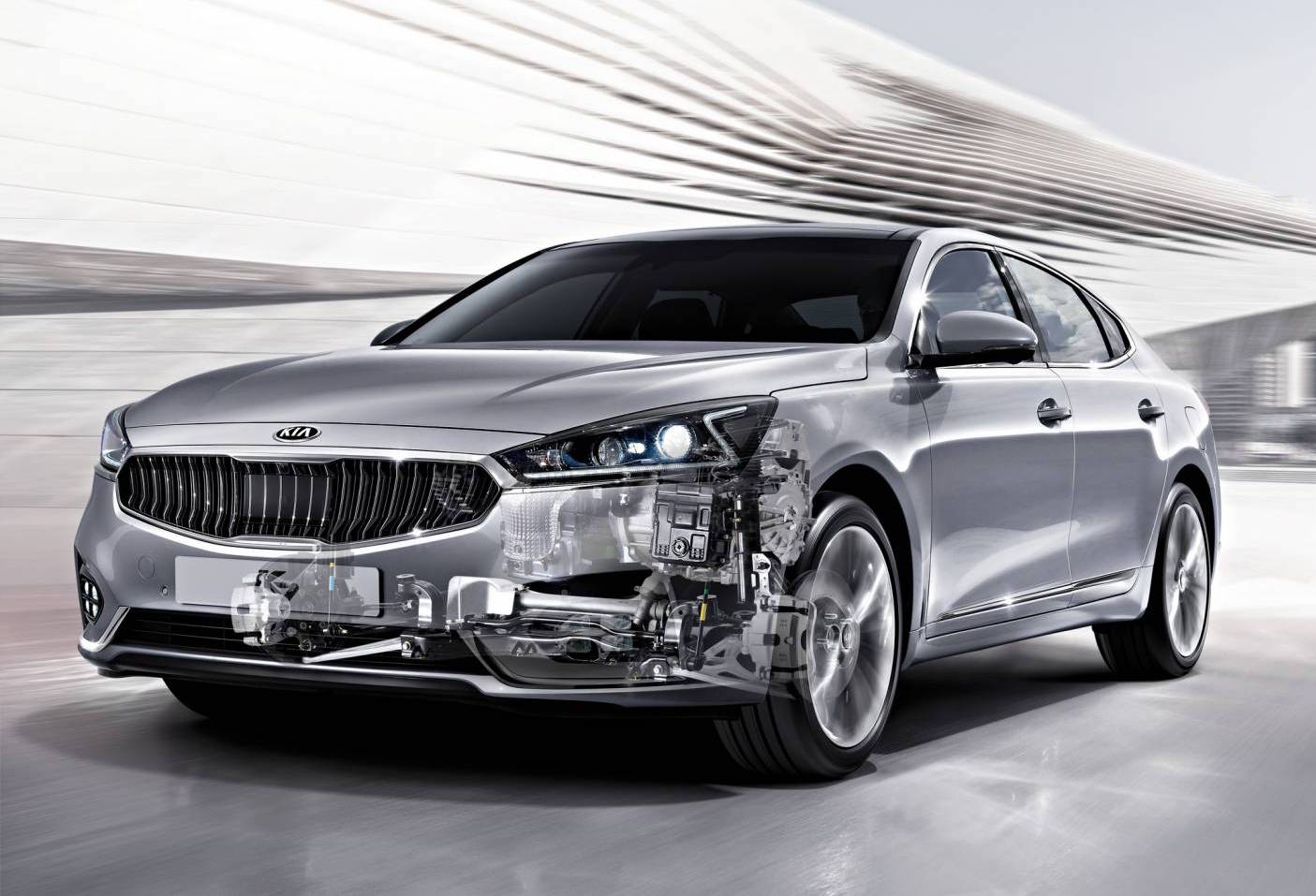 kia announces eight speed auto debuts on 2017 cadenza performancedrive. Black Bedroom Furniture Sets. Home Design Ideas