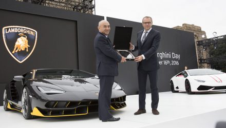 Lamborghini celebrates 30 years of carbon fibre use