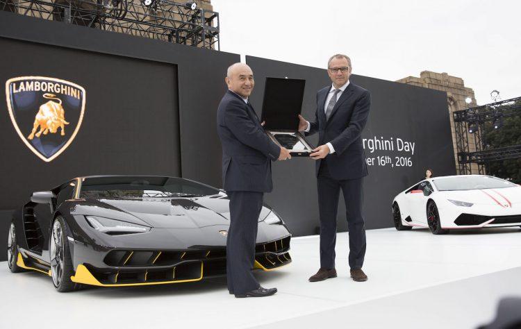 Lamborghini Excellence in carbon