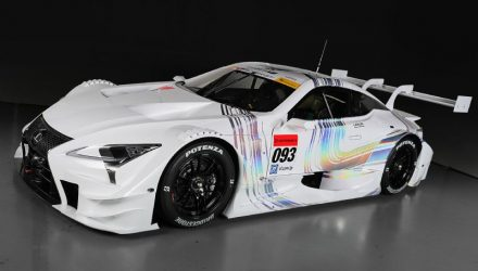 Lexus reveals new LC 500-based Super GT racer