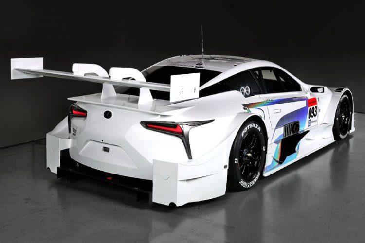 Lexus LC 500 Super GT-rear