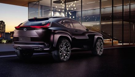 Lexus UX concept leaked, to inspire new compact SUV