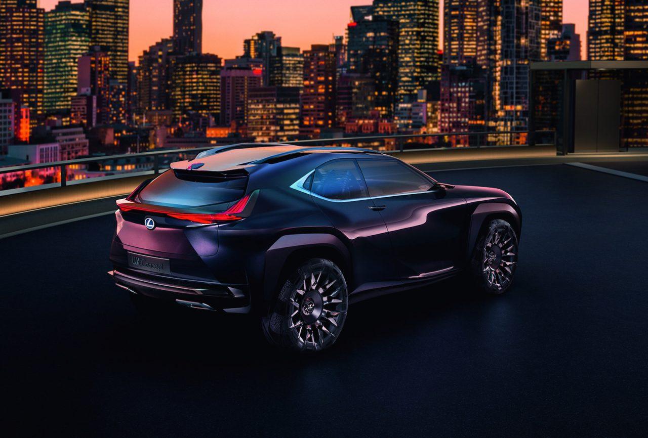 Lexus ux concept unveiled at 2016 paris motor show performancedrive - Paris motor show ...