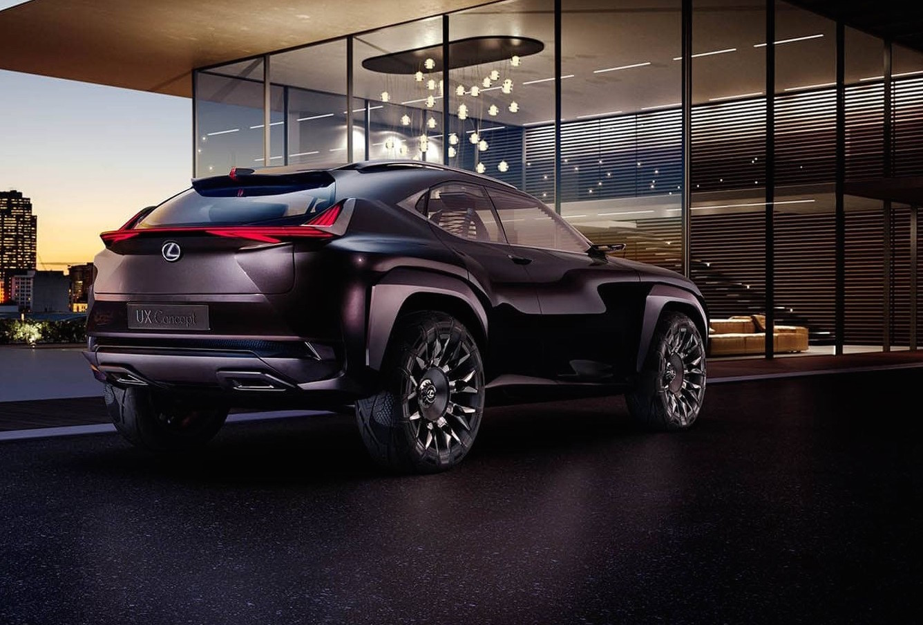 lexus ux concept leaked to inspire new compact suv performancedrive. Black Bedroom Furniture Sets. Home Design Ideas