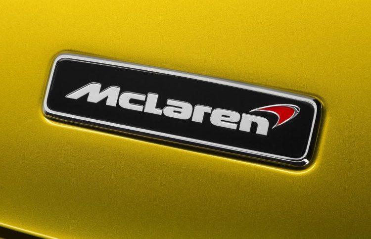 McLaren badge 675LT