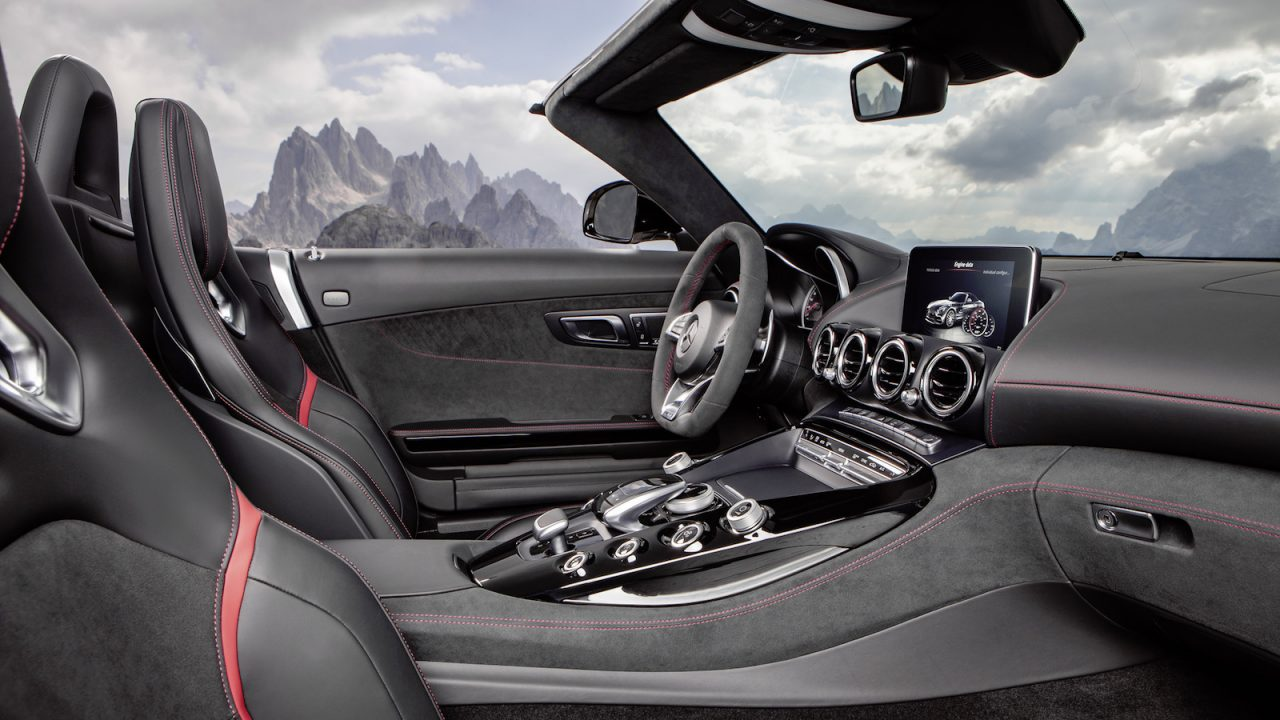 Alfa img showing gt sls amg gt roadster interior - Mercedes Amg Gt C Roadster Interior