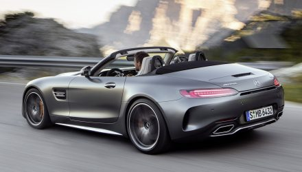 Mercedes-AMG GT C Roadster revealed as new drop-top sports car