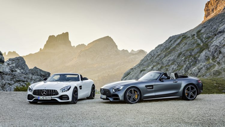 Mercedes-AMG GT Roadster lineup