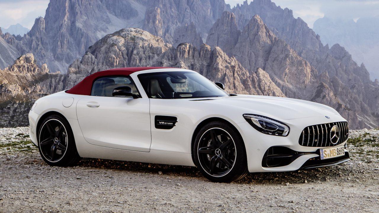 mercedes amg gt c roadster revealed as new drop top sports car performancedrive. Black Bedroom Furniture Sets. Home Design Ideas