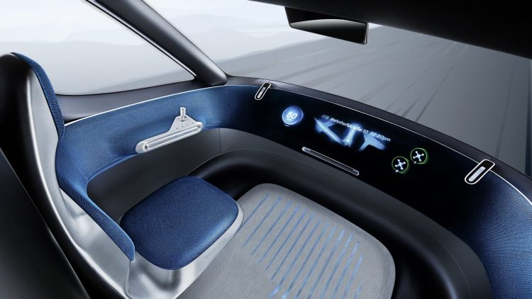Mercedes-Benz Vision Van-interior