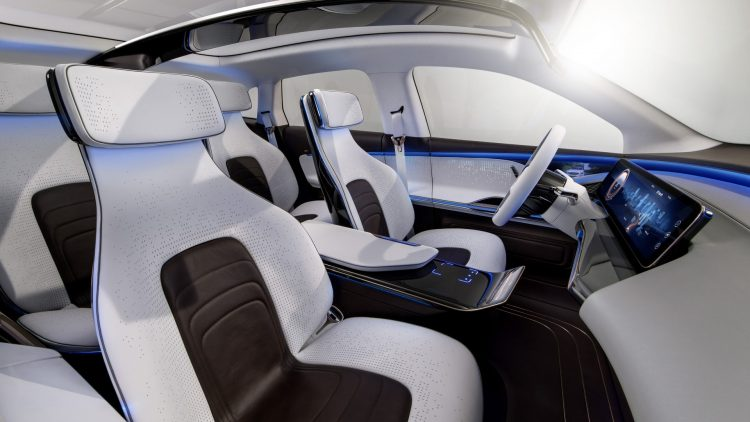 Mercedes Generation EQ-seats