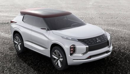 Mitsubishi GT-PHEV concept shown ahead Paris debut