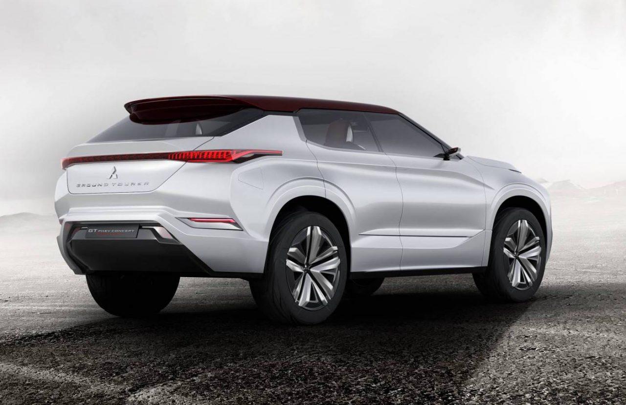 Simple Mitsubishi GTPHEV Concept Shown Ahead Paris Debut