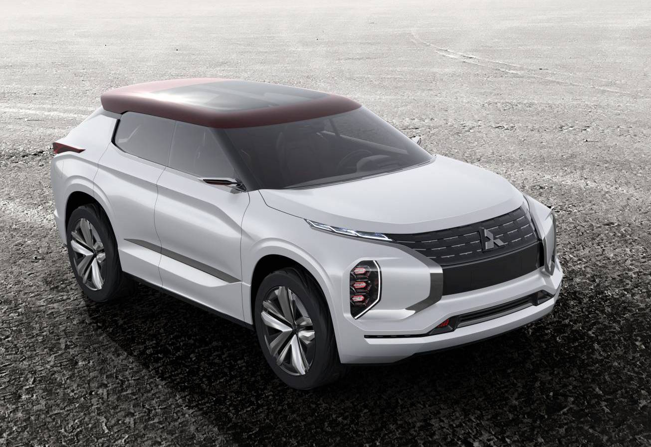 mitsubishi gt phev concept shown ahead paris debut. Black Bedroom Furniture Sets. Home Design Ideas