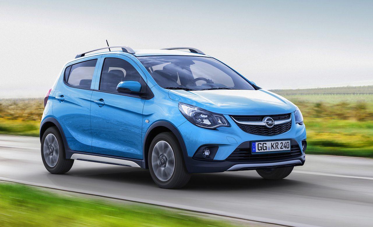 Opel Karl Rocks revealed, baby crossover based on Spark ...