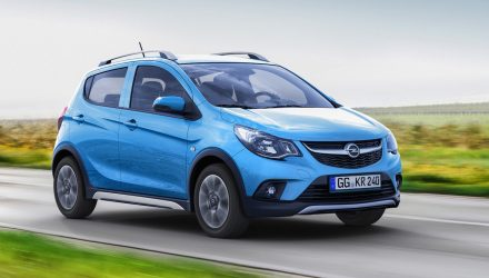Opel Karl Rocks revealed, baby crossover based on Spark