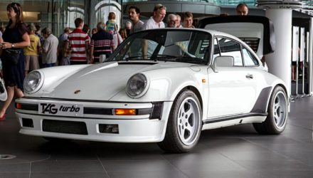 Found: McLaren Porsche 911 with TAG F1 V6 engine