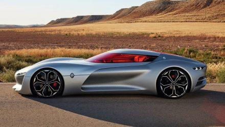 Renault Trezor concept wows at Paris motor show