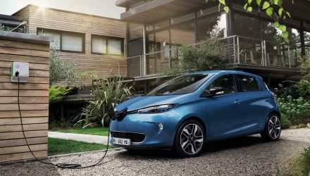 Renault Zoe ZE 40 unveiled at Paris Motor Show, 400km range