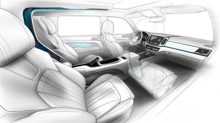 SsangYong LIV-2 concept-interior