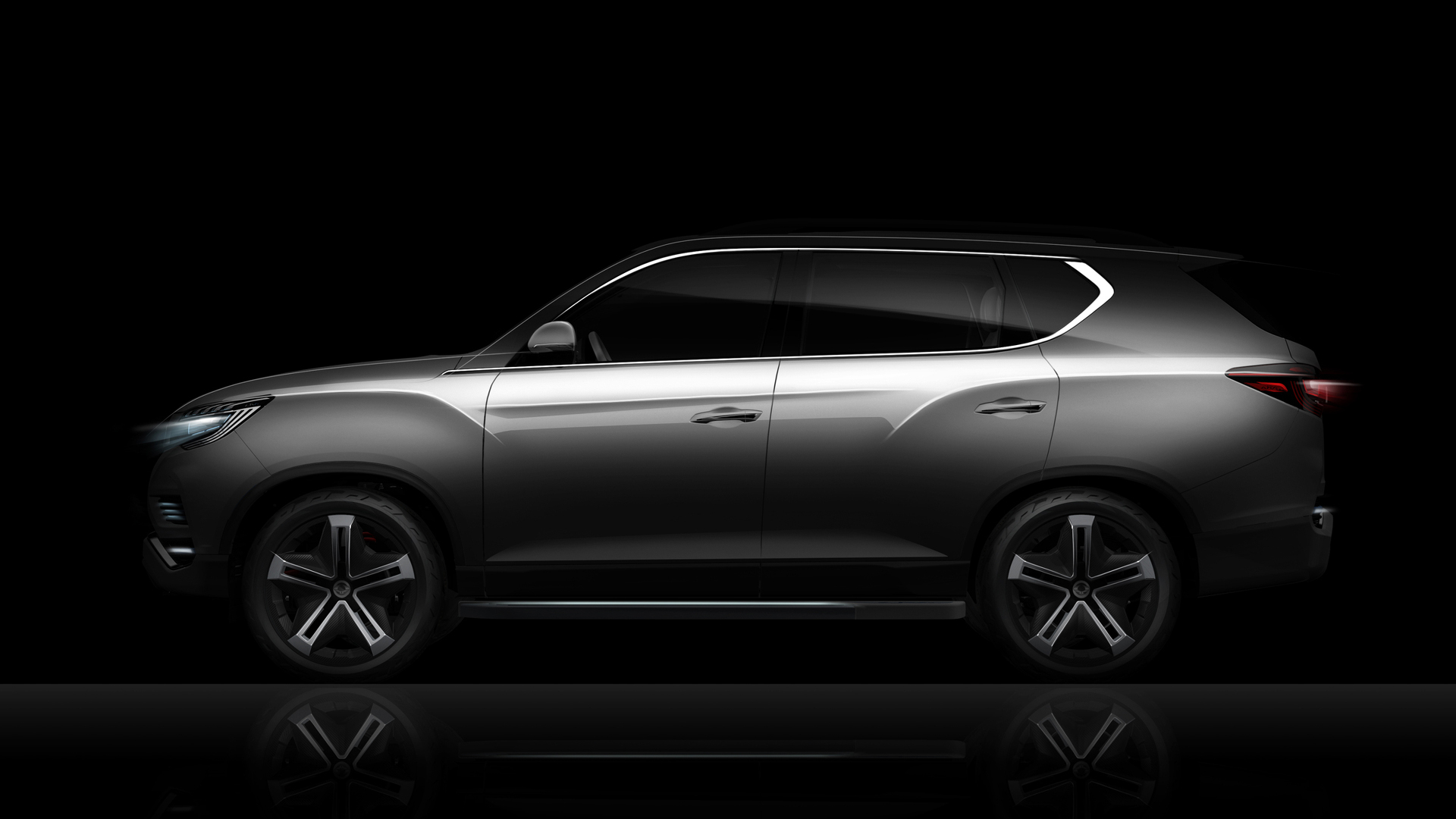SsangYong LIV-2 SUV concept previewed before Paris | PerformanceDrive