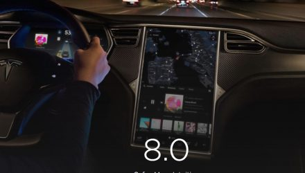 "Tesla software 8.0 announced, in Australia in a ""few weeks"""